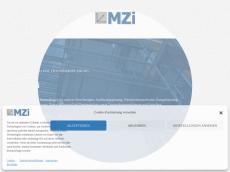 Screenshot der Domain mzi-buero.de