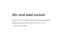 Screenshot der Domain obsthof-thelen.de