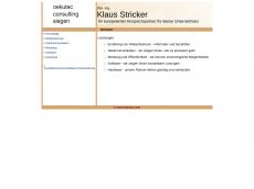 Screenshot der Domain oekutec.com