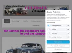 Screenshot der Domain oldtimer-company-hamburg.de