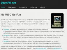 Screenshot der Domain openpa.net