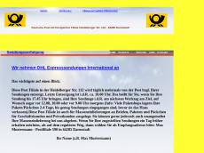 Screenshot der Domain post-eberstadt.de