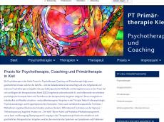 Screenshot der Domain primaertherapie-kiel.de