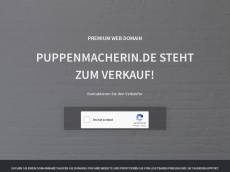 Screenshot der Domain puppenmacherin.de
