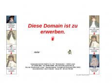 Screenshot der Domain puppennet.de