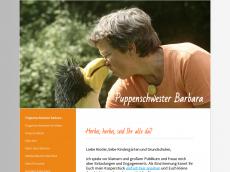 Screenshot der Domain puppenschwester.de