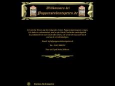 Screenshot der Domain puppenstubentapeten.de