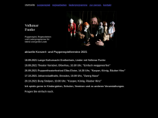 Screenshot der Domain puppentheater-funke.de