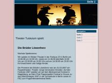 Screenshot der Domain puppentheater-tuskulum.de
