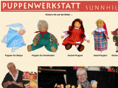 Screenshot der Domain puppenwerkstatt-reinckens.de