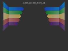 Screenshot der Domain purchase-solutions.de