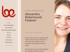 Screenshot der Domain rotermund-federer.de