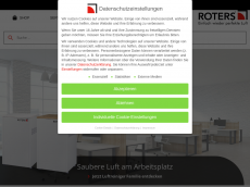 Screenshot der Domain roters-metall.de