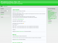 Screenshot der Domain roterstier.info