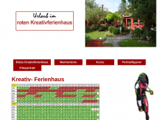 Screenshot der Domain rotes-kreativhaus.de