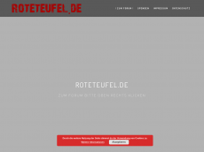 Screenshot der Domain roteteufel.de
