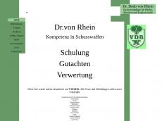 Screenshot der Domain rotewbk.de