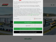 Screenshot der Domain roth-agrar.de