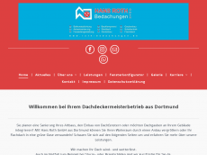 Screenshot der Domain roth-bedachungen.de