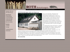 Screenshot der Domain roth-bestattungen.de