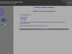 Screenshot der Domain roth-dreer.de