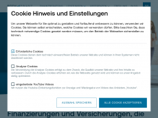 Screenshot der Domain roth-finanz.de