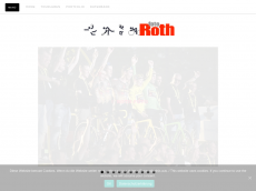 Screenshot der Domain roth-foto.de