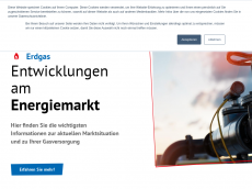 Screenshot der Domain roth-gas.de