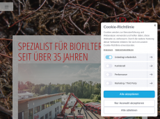 Screenshot der Domain roth-gmbh.de