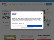 Screenshot der Domain roth-gruppe.com