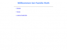Screenshot der Domain roth-hd.de