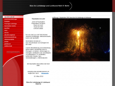Screenshot der Domain roth-lichtdesign.com