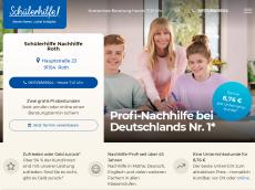 Screenshot der Domain roth-nachhilfe.de