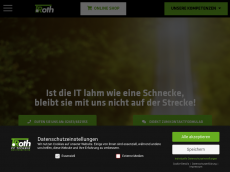 Screenshot der Domain roth-pctechnik.de