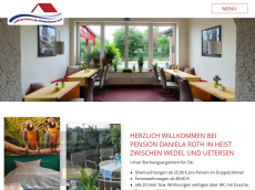 Screenshot der Domain roth-pension.de