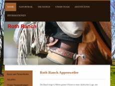 Screenshot der Domain roth-ranch-appenweiler.de