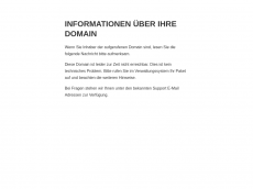 Screenshot der Domain roth-red.de