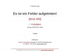 Screenshot der Domain roth-stahldesign.de