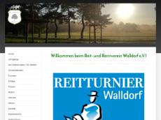 Screenshot der Domain rrv-walldorf.de