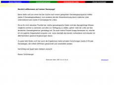 Screenshot der Domain rsaa.de