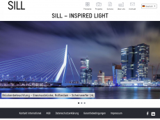 Screenshot der Domain sill-lighting.com
