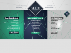 Screenshot der Domain sillex.de