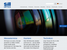 Screenshot der Domain silloptics.de