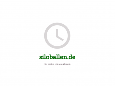 Screenshot der Domain siloballen.de