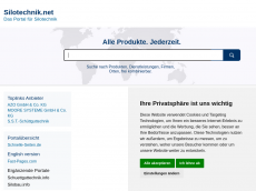 Screenshot der Domain silotechnik.net
