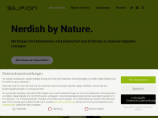 Screenshot der Domain silpion.com