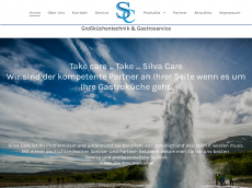 Screenshot der Domain silva-care.de