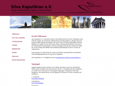 Screenshot der Domain silvakaputikian.de