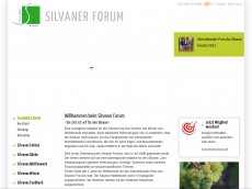 Screenshot der Domain silvaner-forum.de