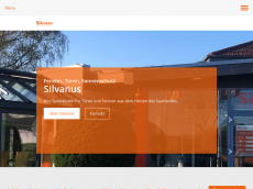 Screenshot der Domain silvanus.de